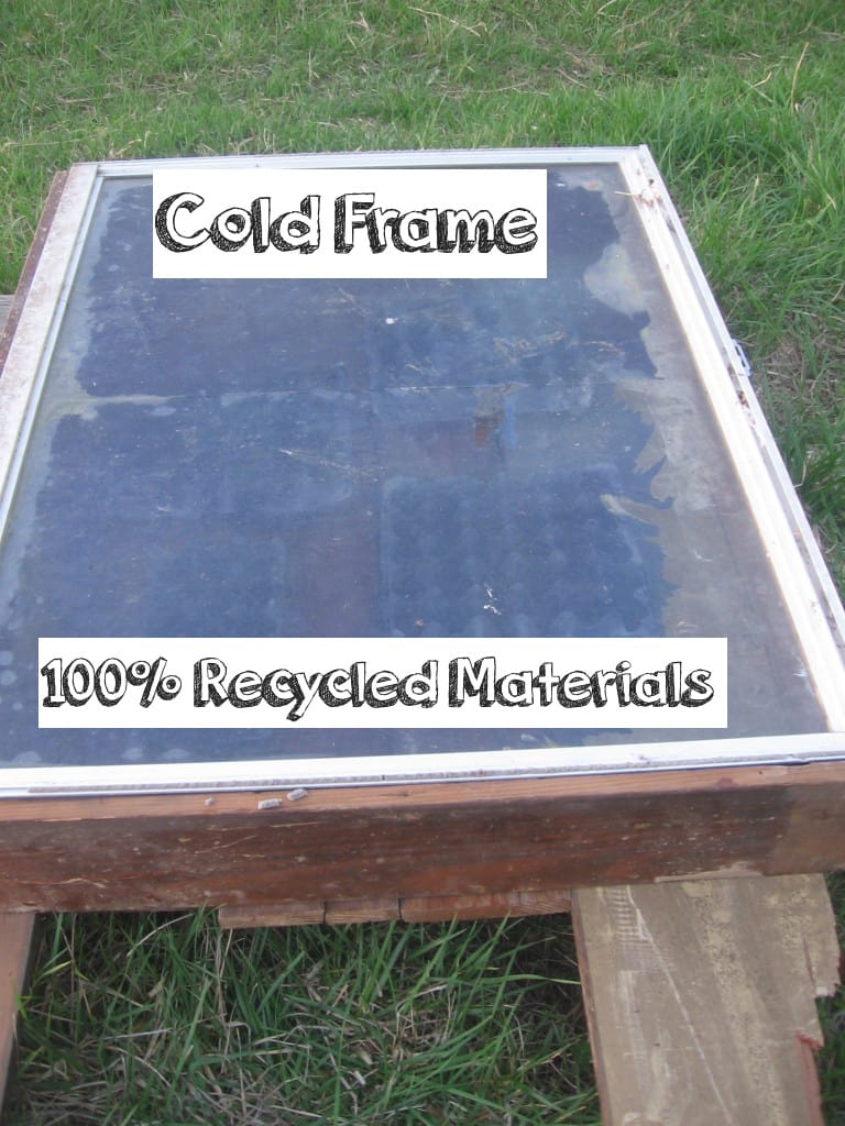 Cold Frame for Garden out of Recyled Materials