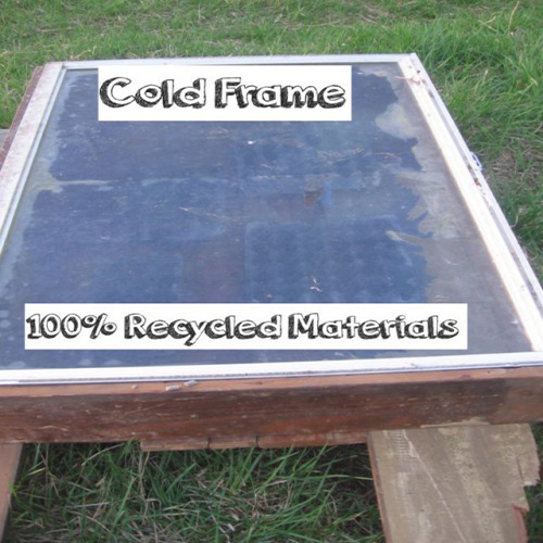 Seedling Cold Frame Out of Recycled Lumber