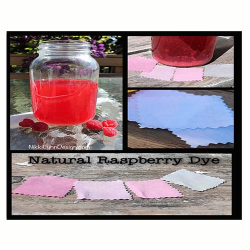 Dyeing Cotton Using Raspberries