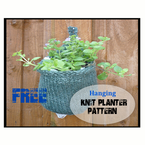 Hanging Knit Planter Pattern