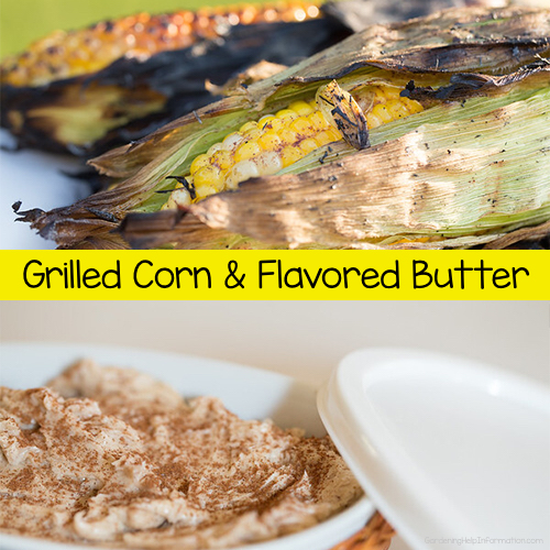 Corn Roast & Flavored Butter