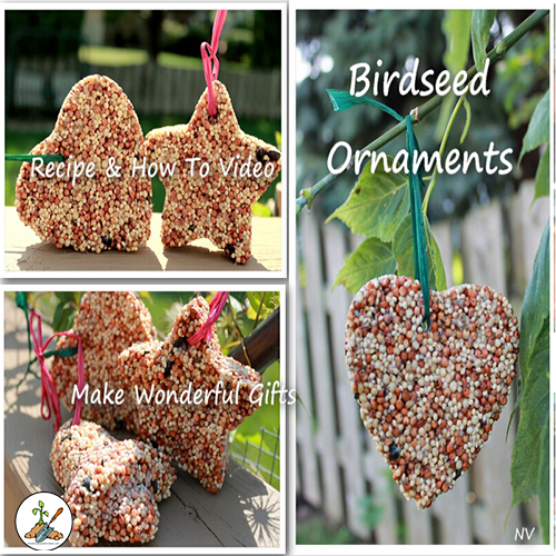 Homemade Birdseed Ornaments Recipe For Birds Wedding Favors