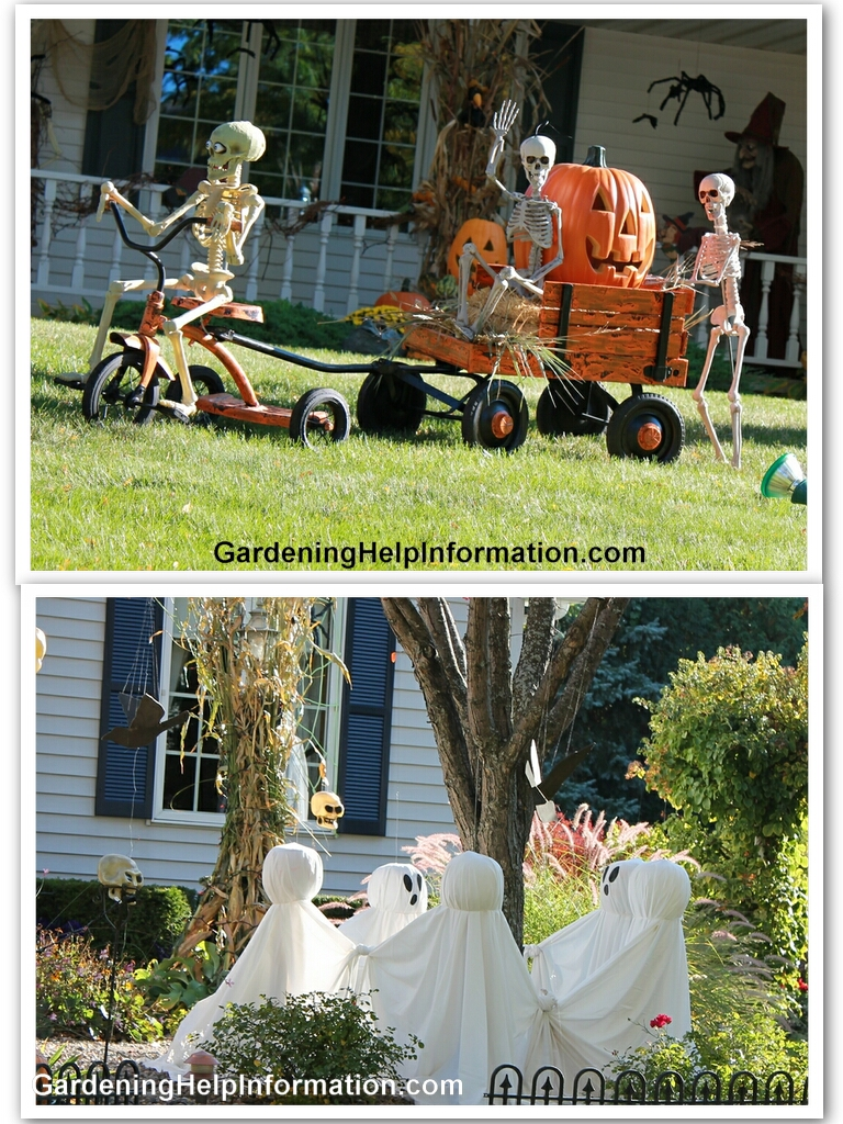 Decorating Your Yard for Halloween Weed It &amp Reap! - Serious Halloween Decorations