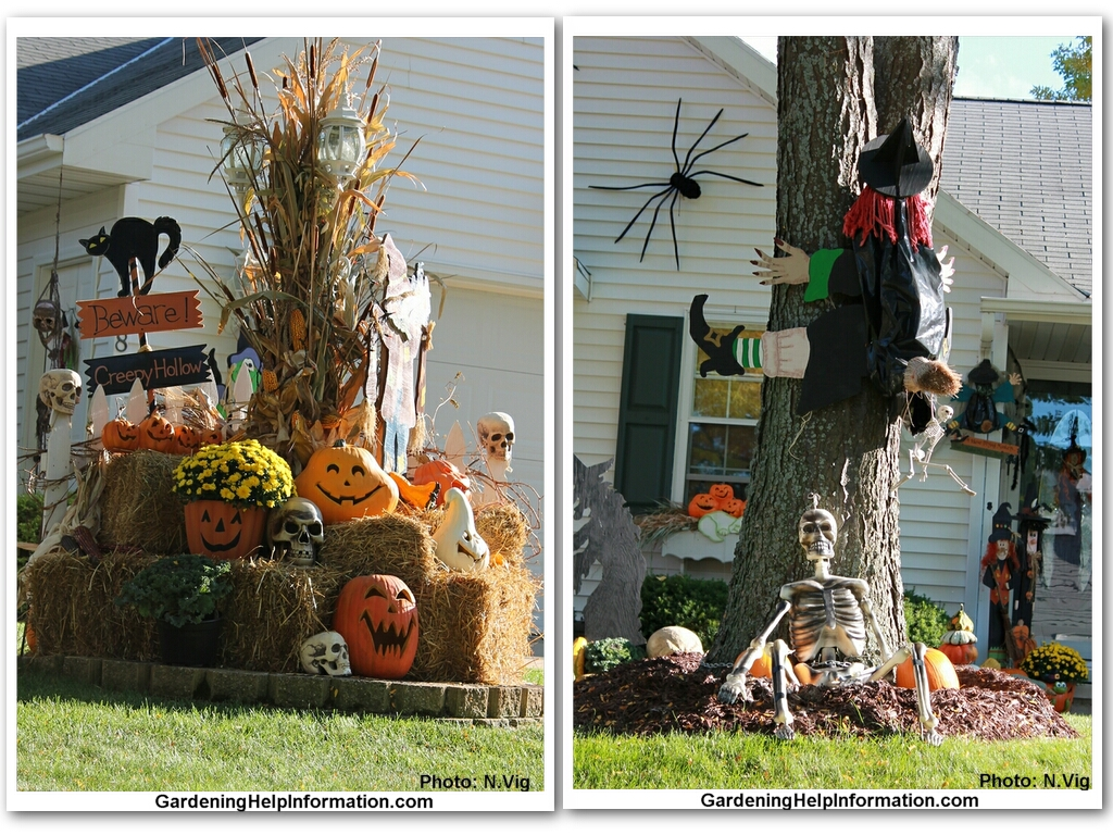 Decorating Your Yard for Halloween Weed It &amp Reap! - Cute Outdoor Halloween Decorations
