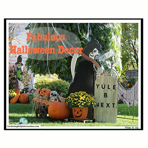decorating your yard for halloween - How To Decorate Your Yard For Halloween